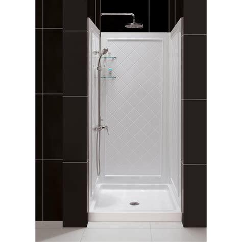 dreamline shower dreamline slimline 36 in x 36 in single threshold shower