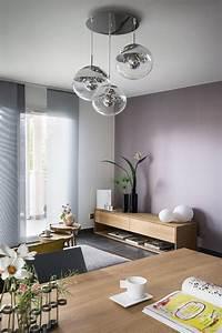 Lustre Salon Moderne : salon contemporain moderne lustre lampe en verre ~ Voncanada.com Idées de Décoration