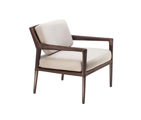 tribeca lounge chair garden armchairs from dedon