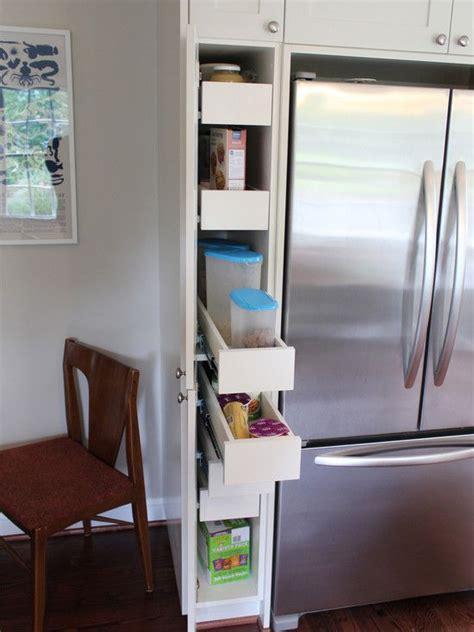 hidden pull  storage   refrigerator