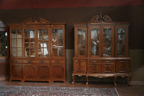 Ebay Mahogany China Cabinet by And Claw Four Door Mahogany China Cabinet Ebay