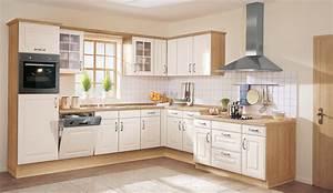 Landhaus einbaukuche wermona 4428 magnolienweiss kuchen for Einbaukuche