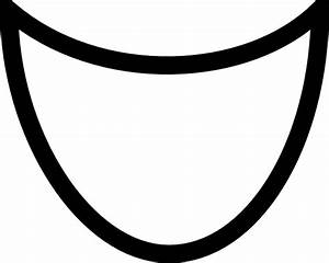 Smile mouth clipart black and white free clipart - Clipartix