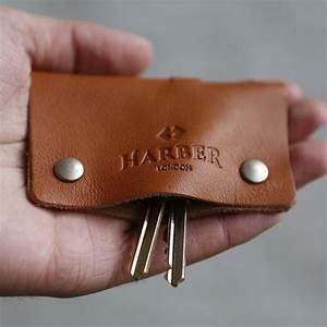 Leather, Key, Holder, Case, By, Harber, London