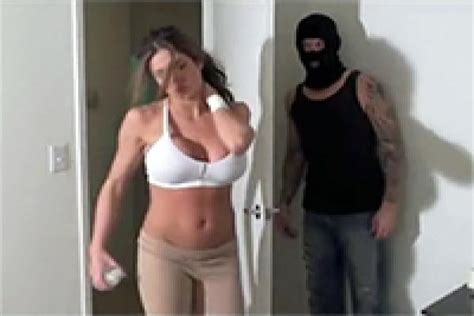 Masked Burglar Chloroformed Hot Milf So He Could Fuck Her