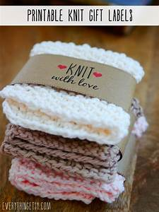 Free printable knit gift labels everythingetsycom for Hand knit with love labels