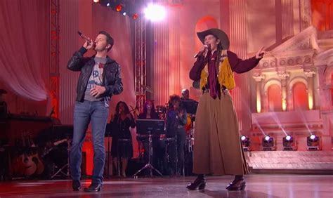 Real Cowgirl And Scotty Mccreery Perform