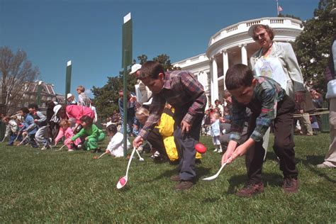 surprising facts   white house easter egg roll
