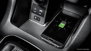 Handyhalterung Auto Wireless Charging : hyundai wireless charging aircharge ~ Kayakingforconservation.com Haus und Dekorationen