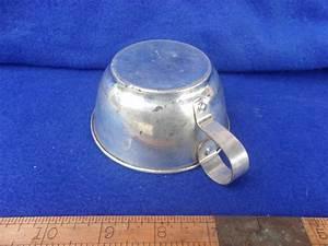 Rare Tin Cup (C376)