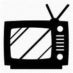 Tv Icon Classic Television Icons Antenna Entertainment