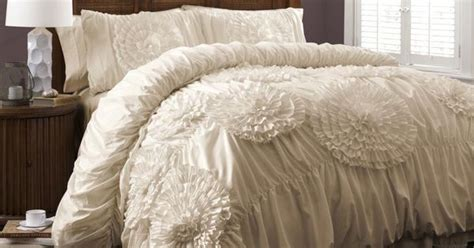 lush decor serena comforter lush decor serena 3 comforter set by lush decor