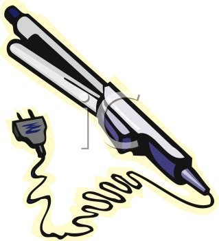 straighteners clipart clipground