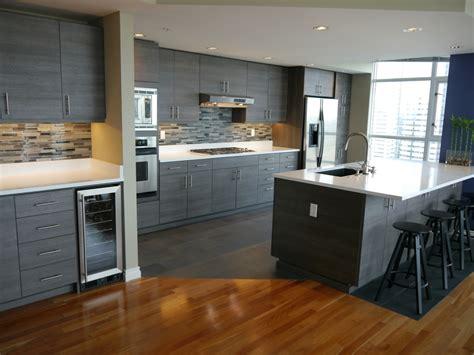kitchen island with corbels seattle condo modern kitchen reface