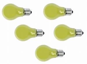 Glühbirne 40 Watt : gl hlampe gl hbirne e27 40 watt gelb 5er set gl hlampe gelb e27 ~ Frokenaadalensverden.com Haus und Dekorationen