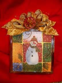 glass blocks crafts on pinterest clay pot crafts glass blocks and snowman