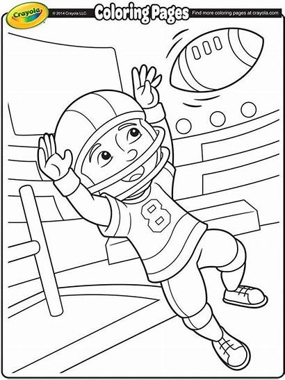 Football Coloring Pages Crayola Sports
