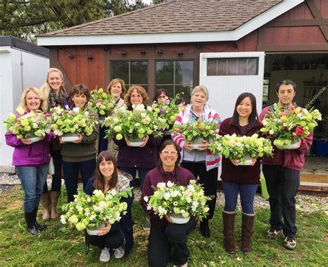 floral design workshops   flower farm lovenfresh