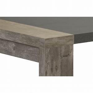 Table Basse Chene Gris : table basse contemporaine rectangulaire ch ne gris campus matelpro ~ Teatrodelosmanantiales.com Idées de Décoration