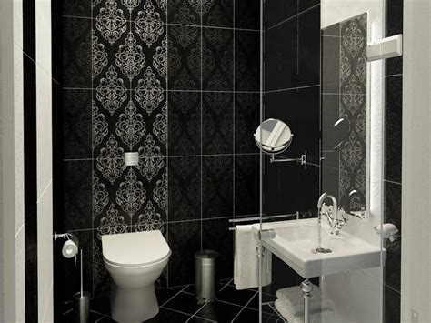 bathroom wall covering ideas cozy contemporary small bathrooms with stylish wallpaper