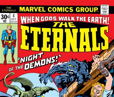 Eternals (1976) #4 | Comic Issues | Marvel