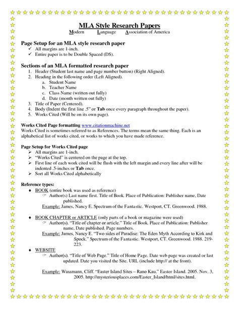 format research paper template  heading  museumlegs