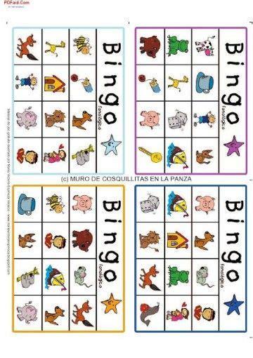encuentra cartones de bingo para imprimir y divertirte de tarjetas personales