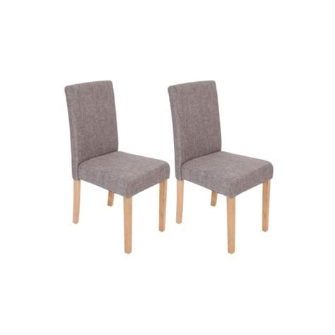 chaises de salle a manger chaises de salle à manger lot de 2 venizia tissu achat