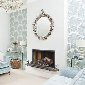 Transforming living rooms with wallpaper