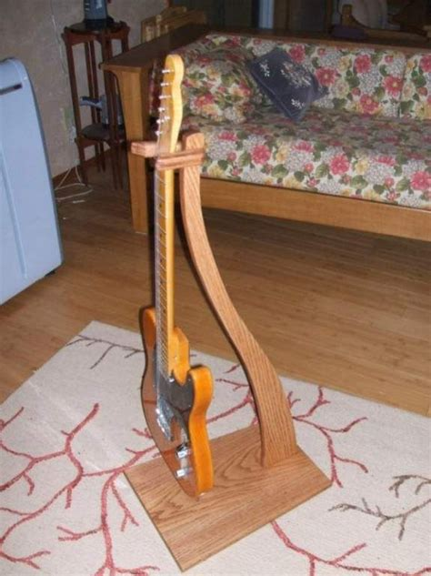 wooden wood guitar stand plans  plans musical wood