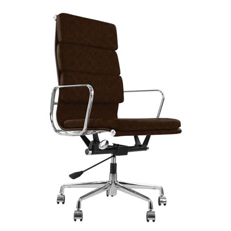 eames style ea219 soft pad executive office chair a modern