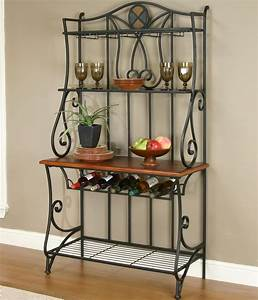 Dining Room Baker's Rack by Cramco, Inc Wolf and