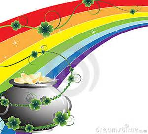 Rainbow with Pot Gold