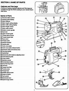 Kenmore Model 385 16530 Sewing Machine Instruction Manual