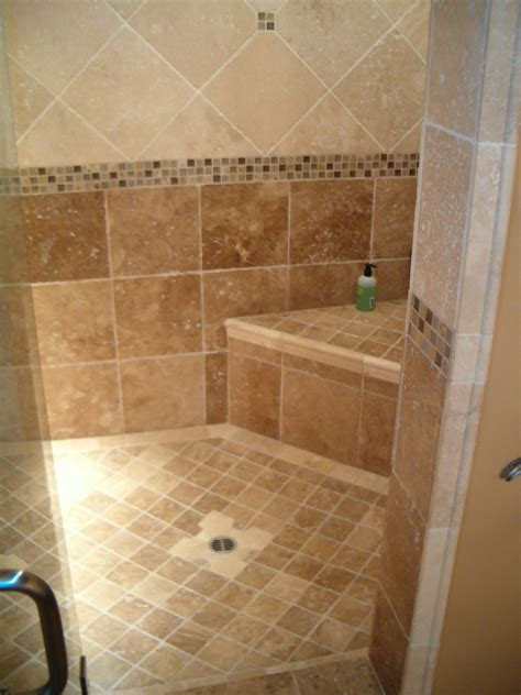 subway tile shower for a neat and clean bathroom look