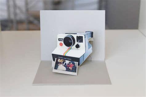 diy polaroid pop  card