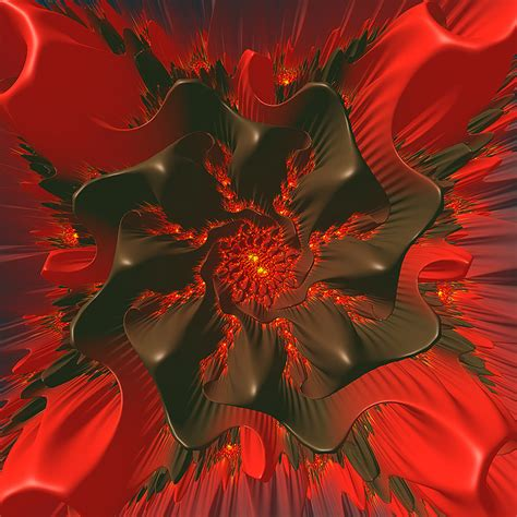Red And Brown Julia Flower By Duncanmacc On Deviantart