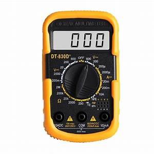 Dt830d Mini Portable Digital Multimeter Ac  Dc Voltage