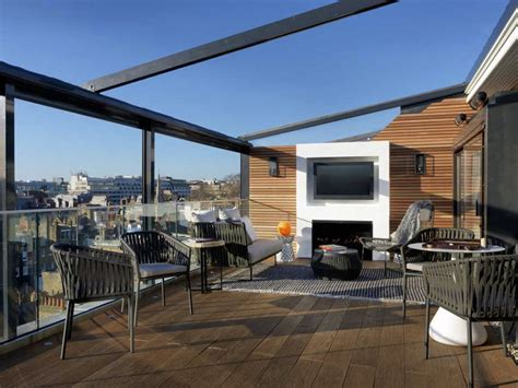 roof terrace   marylebone hotel london