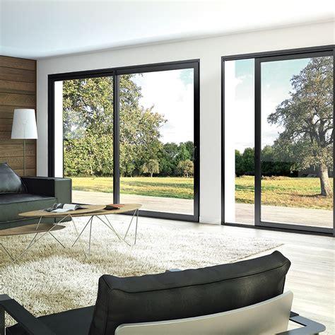 Fenêtre et baie coulissante aluminium Aluside + Franciaflex