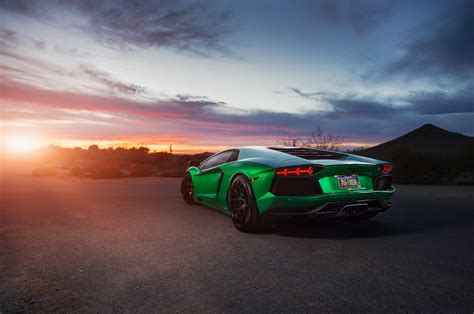 4k Wallpaper by Wallpaper Lamborghini Aventador Green 4k Lamborghini