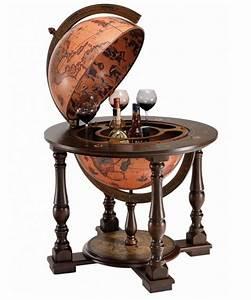 Bar Globe Terrestre : bar glob pamantesc pe rotile narciso ~ Teatrodelosmanantiales.com Idées de Décoration
