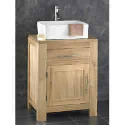 Waste Traps For Sinks by Solid Oak Alta 60cm Wide Single Door Cabinet With Basin