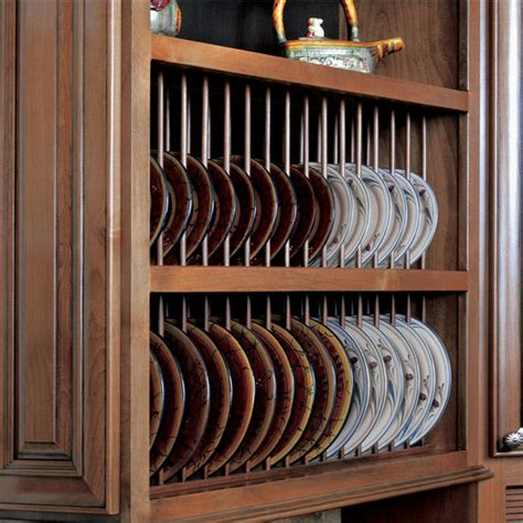 cabinet accessories pre assembled plate display rack kit  omega national kitchensourcecom