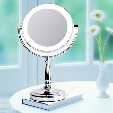 professional makeup mirror with lights professional makeup mirror with light 7 inch led compact