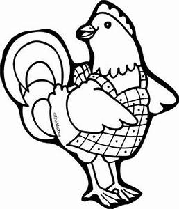 Hen Black And White Drawing - ClipArt Best