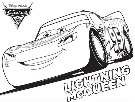 Disney Pixar Cars 3 Coloring Sheets