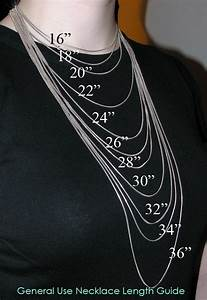 Necklace Size Chart For Men