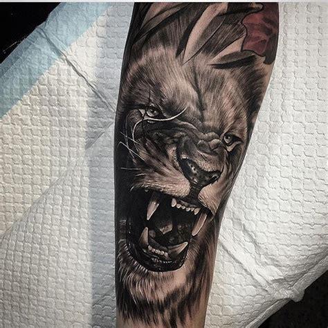 ideas  lion arm tattoo  pinterest lion