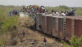 Mexican military begins arresting migrants riding 'The Beast' train to US border…